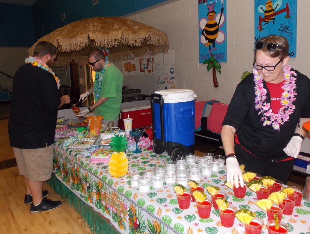 United We Dance Hawaiian Luau dance party